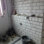 Abmauerung Gäste-WC