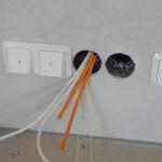 Kabel im Wohnzimmer